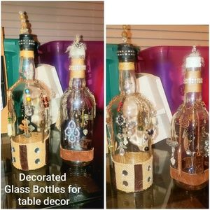 Decorative Glass Bottles for Home decor